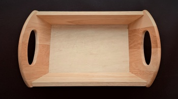 Rectangular Wooden Bread Trug