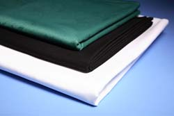 """Long Forest Green Tablecloth 70"""" x 108"""""""