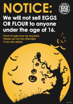 No eggs and flour for anyone under 16 in Hampshire.