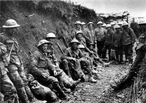 in the trenches World War 1