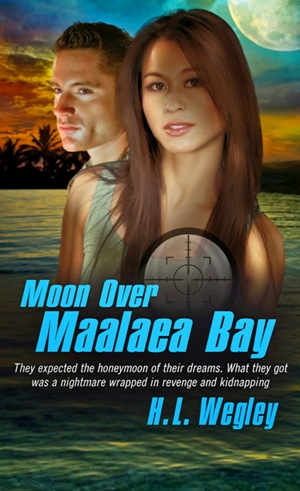 Moon Over Maalaea Bay, by H.L. Wegley