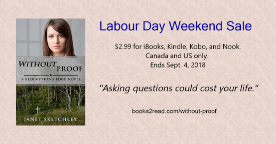 Without Proof only $2.99 for Kindle, Kobo, iTunes, Nook... ends Sept. 4/18. #Christianfiction #romanticsuspense #cleanreads