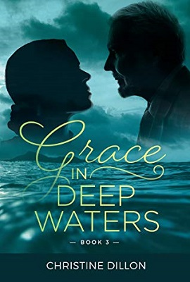 Book cover: Grace in Deep Waters, by Christine Dillon