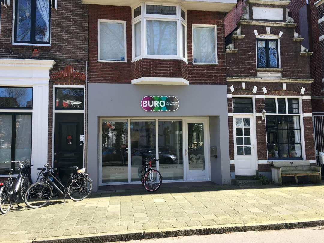 Parklaan 32 in Groningen - Buitenkant gebouw