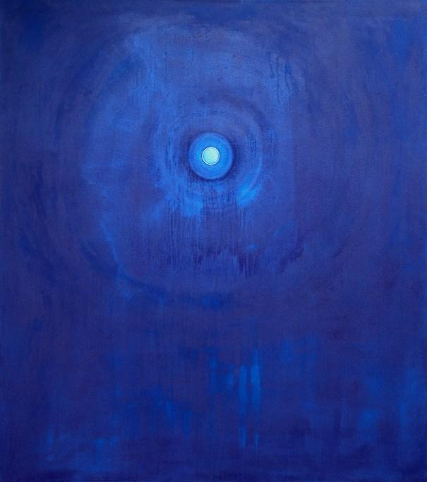BIndu 1996 painting by Janet Towbin