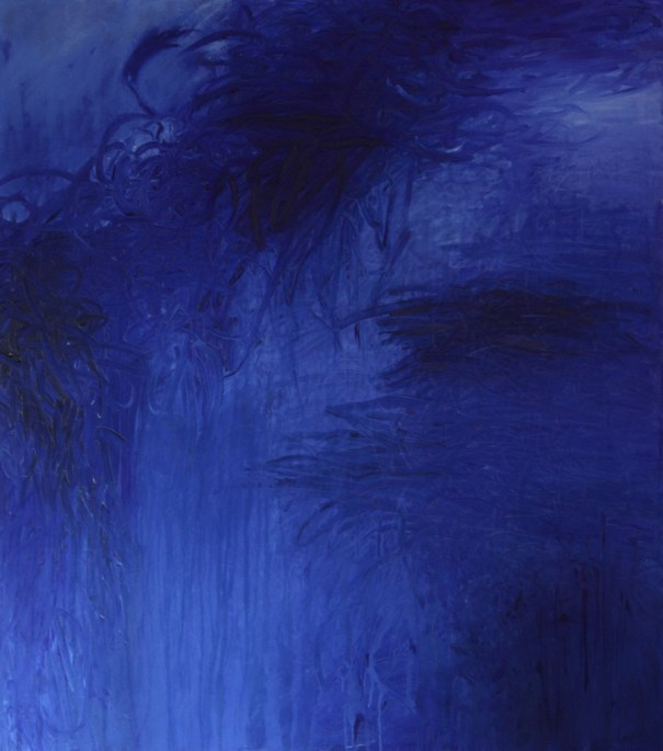 The Firmament 1996 painting by Janet Towbin