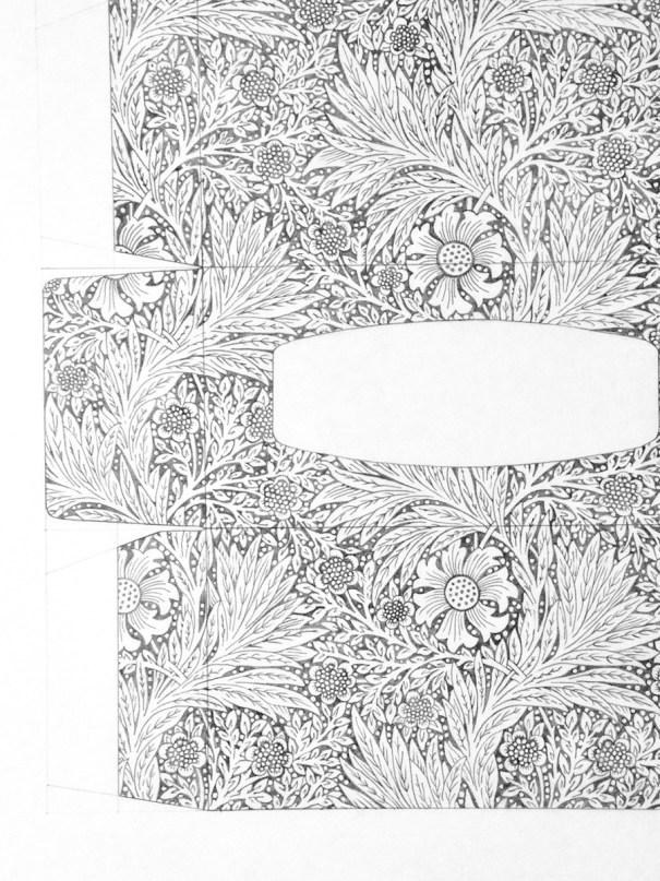 Kleenex Brand Tissues/Morris & Co. Carnation, detail