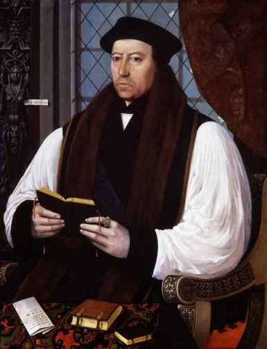 Thomas Cranmer, by Gerlach Flicke