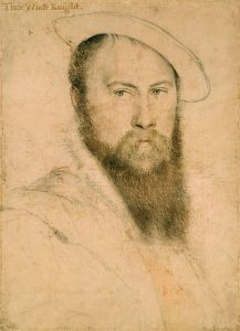 Sir Thomas Wyatt, by Hans Holbein