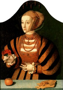 On June 20, 1540, Anne of Cleves expressed her concern over the attention that Henry VIII was paying to one of her maids of honor, Catherine Howard. Read about it on www.janetwertman.com