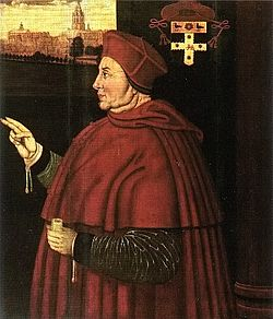 August 2, 1524 - Wolsey seeks to solve the succession issue by proposing an Alliance to Margaret of Scotland. Read more on www.janetwertman.com