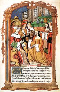 Mary Tudor and Louis XII of France, by an unknown artist (via Wikimedia Commons with thanks to the British Library)