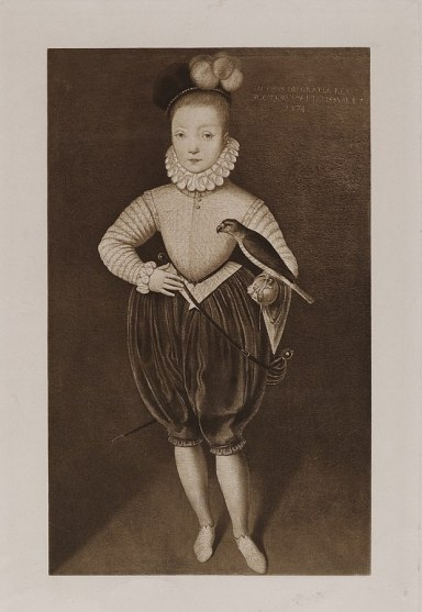 James VI and I as a boy