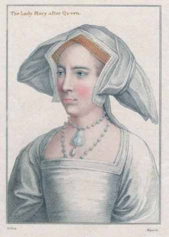 Mary Tudor, by Hans Holbein