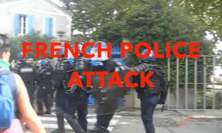 Watch Police Viciously Attack Animal Rights Activists!