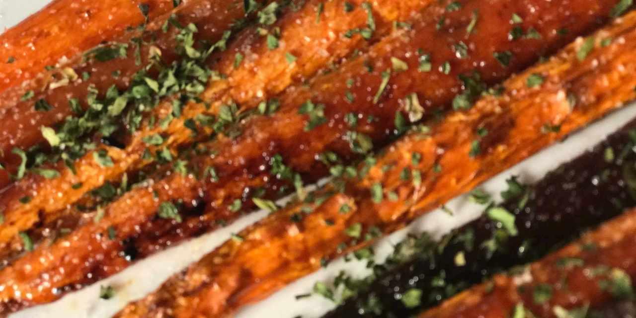 Bitching Balsamic Carrots