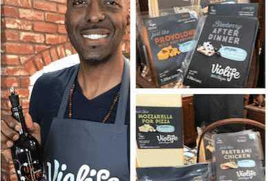 NBA Legend, John Salley and his Vegan Food Companies: Violife and The Vegan Vine