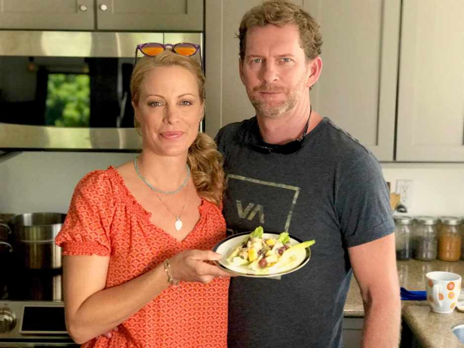 LBL Alison Eastwood and Stacy w:Waldorf Salad 6:27:17