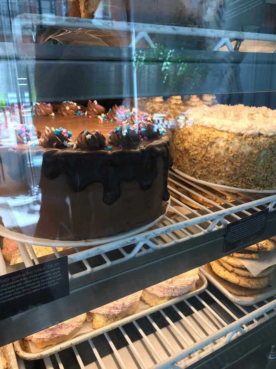LBL JVM Peacefood Cafe Chocolate Cake 6:26:17