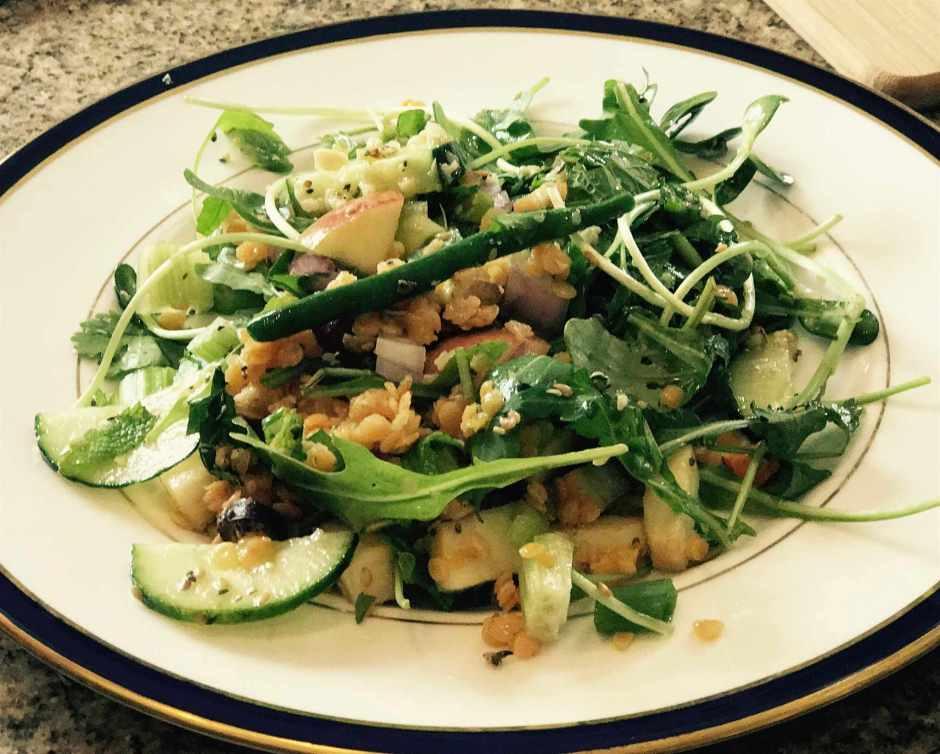 LBL Reese Halter Plated Salad 6:21:17
