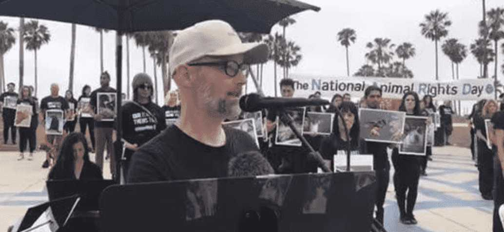 Moby Leads National Animal Rights Day