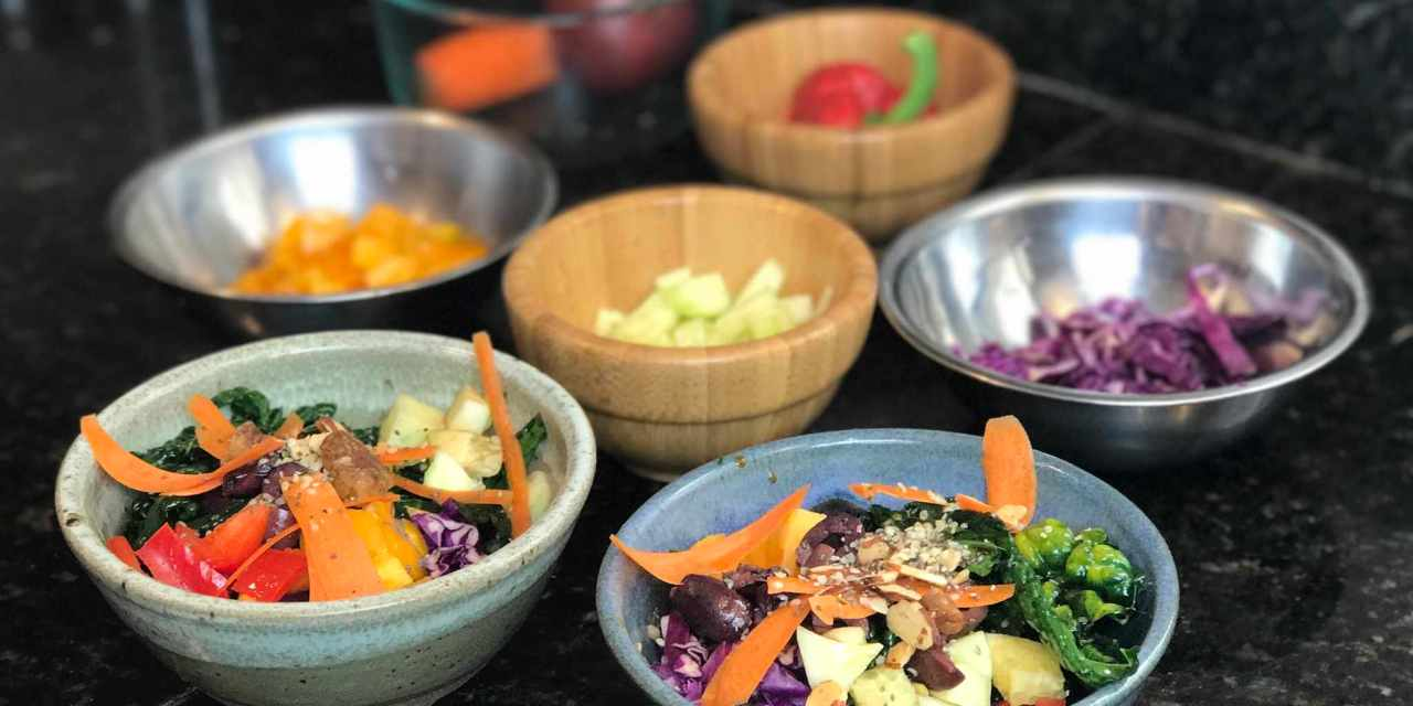 Vegan Rama Mama Makes her Signature Rama Bowl and Provides Some Solutions Addressing Plastic Pollution