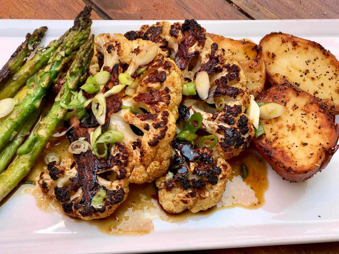 LBL Sun Cafe Cauliflower Steak