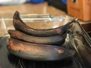 Sweet Ripe Plantains (baked)