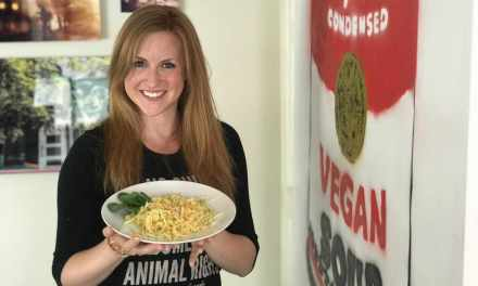 NYC Activist Makes Vegan Mac 'n Cheese
