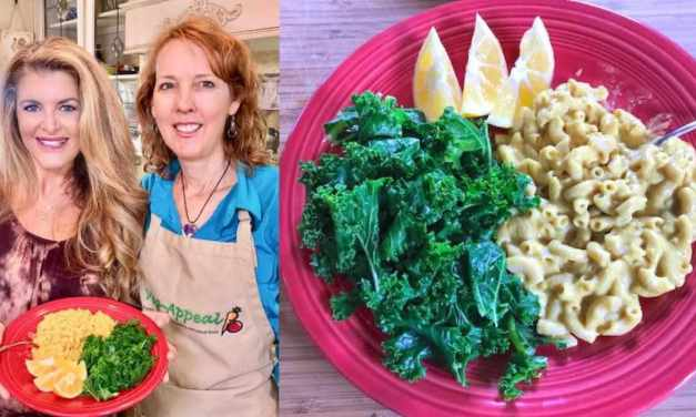 Erin Riley-Carrasco and Tracy Childs Stir Up Vegan Mac & Cheese With a Side Of Kale! #SaturdaySnackdown