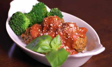 "Vegan ""Meatballs"" with Marinara"
