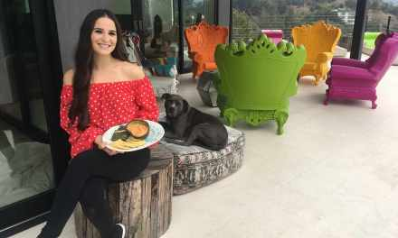 Actress/Activist Gianna Simone Lifts Veganism To New Heights!