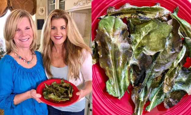 Erin Riley-Carrasco Cooks Up Delicious Roasted Broccoli Leaves! #SaturdaySnackdown