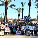 "Protesters Request ""FREE BILLY the Elephant"" from Captivity at the LA ZOO!"