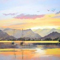 Evening Sail, Ullswater print