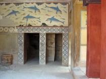 Dolphin Fresco at Knossos