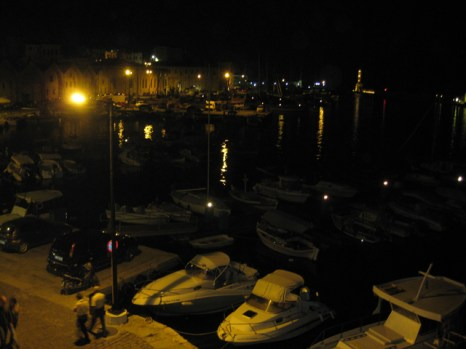 Our last evening in Chania,Crete.