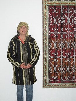 Me in my Moroccan outfit.