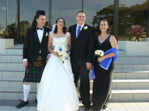 Riki, Alisha, Chris & Dianne