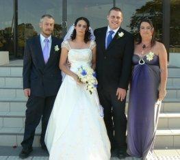 Ron, Alisha, Chris and I