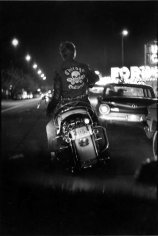 Benny, Grand and Division, Chicago, 1967 Danny Lyon