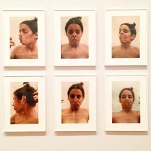 "Ana-Mendieta-Untitled-Glass-on-Body-Imprints—Face-1972-six-chromogenic-color-prints-in-""Transmis"