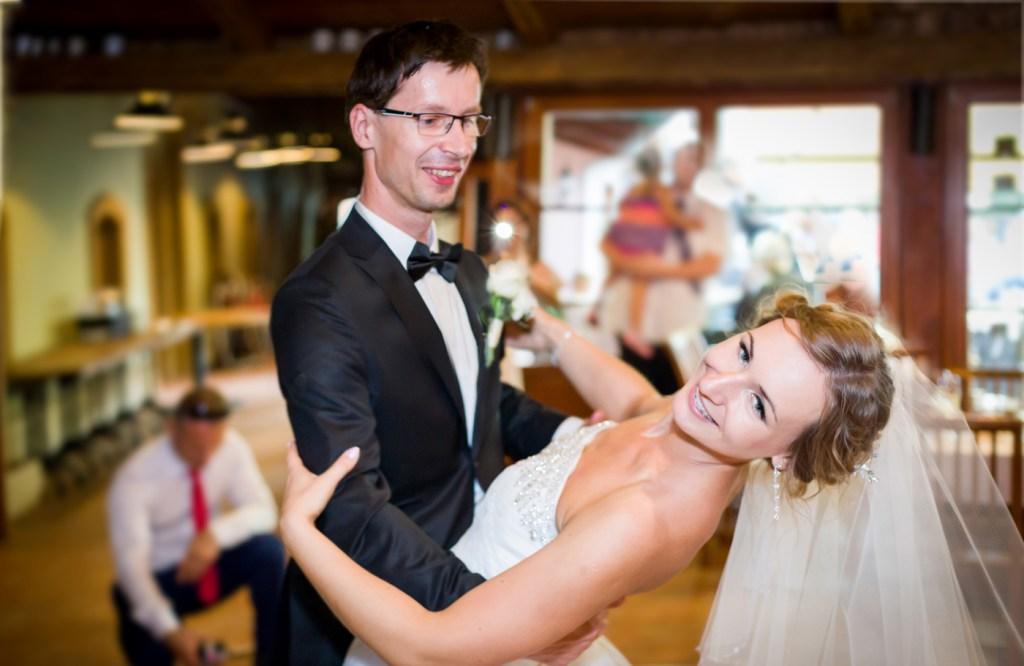 Ela i Petr pierwszy taniec