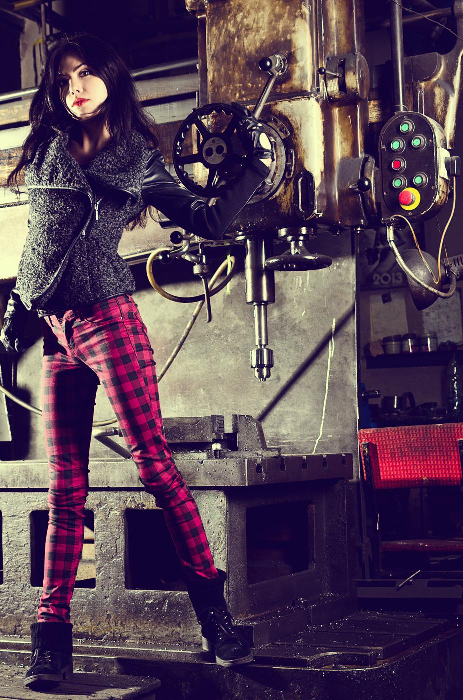Ania - sesja zdjęciowa z modelką