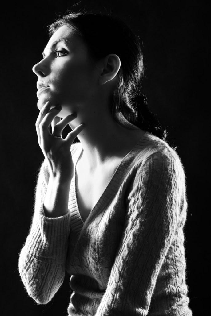 Ania modelka - ciemny klucz