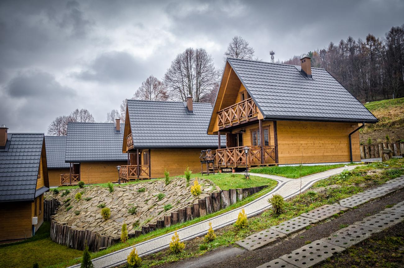 Noclegi Solina, domki przy Zaporze