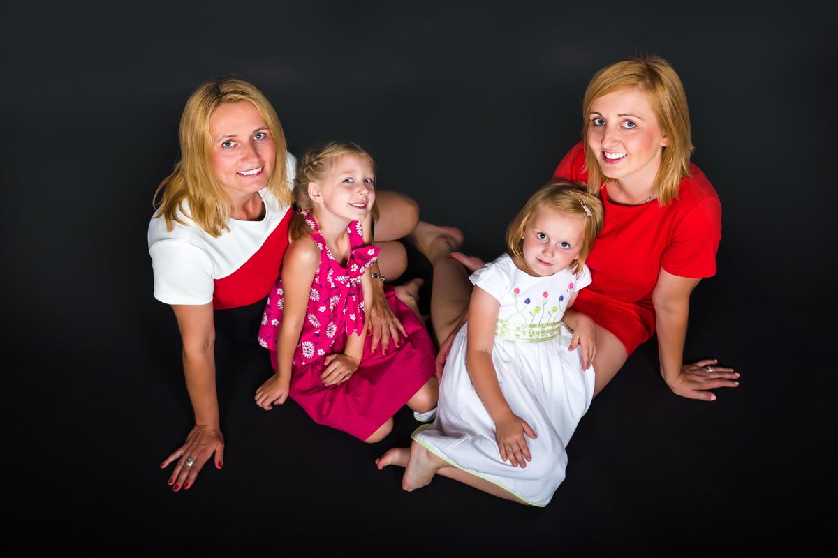 Lusia i Karolinka sesja zdjęciowa dla dzieci