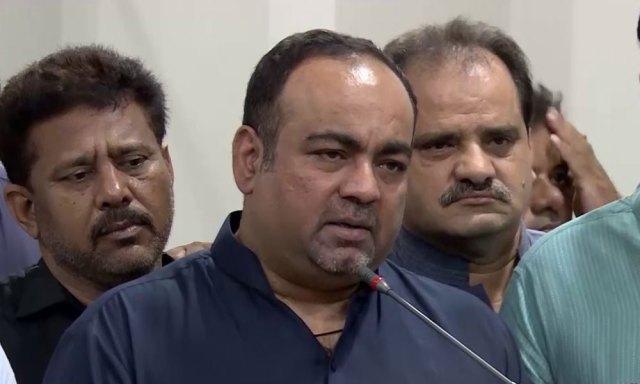 'نگراں وزیراعلیٰ کیلئے مراد علی شاہ سے آج پہلی ملاقات ہوگی'