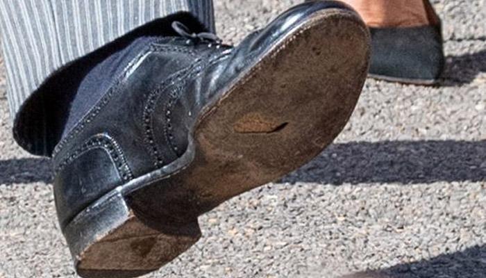 ہیری کے جوتے میں سوراخ میڈیا کی آنکھ سے نہ بچ سکا