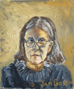 'Babcia' (2015) oil on canvas
